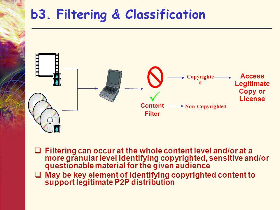 b3. Filtering & Classification