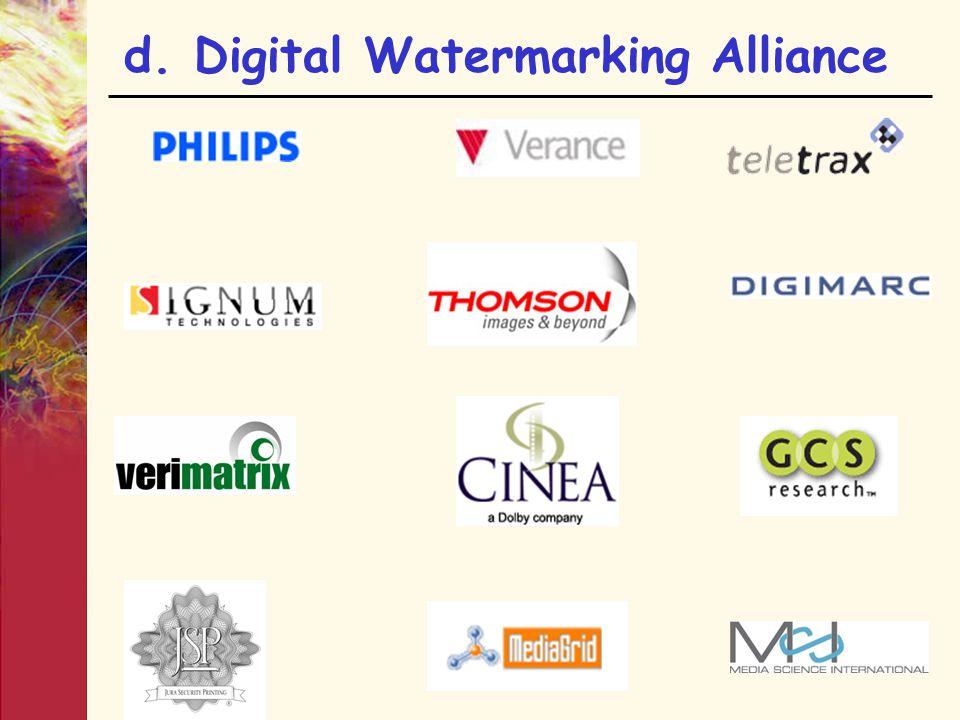 d. Digital Watermarking Alliance