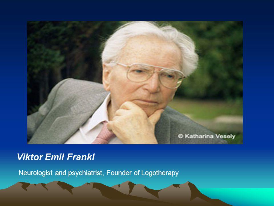 Viktor Emil Frankl Discovery
