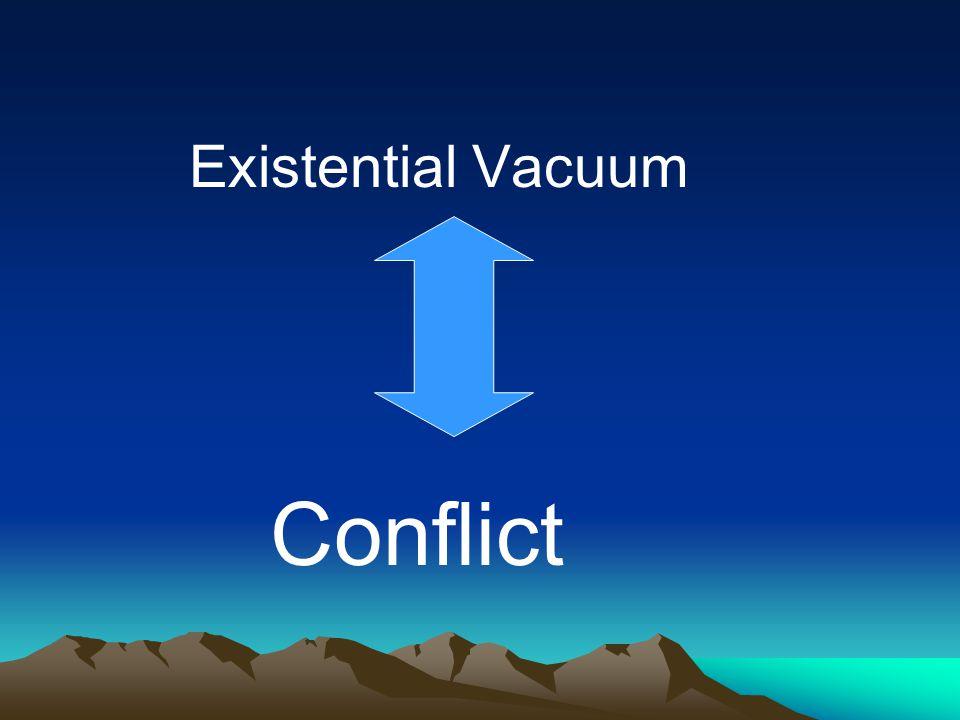 Existential Vacuum Conflict