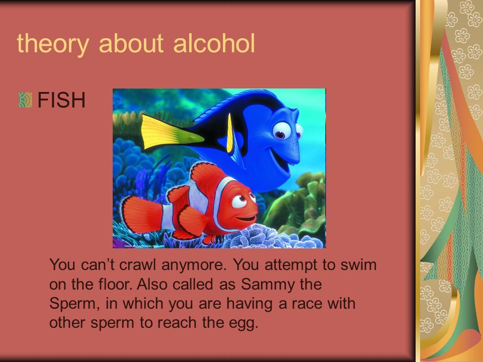 theory about alcohol FISH
