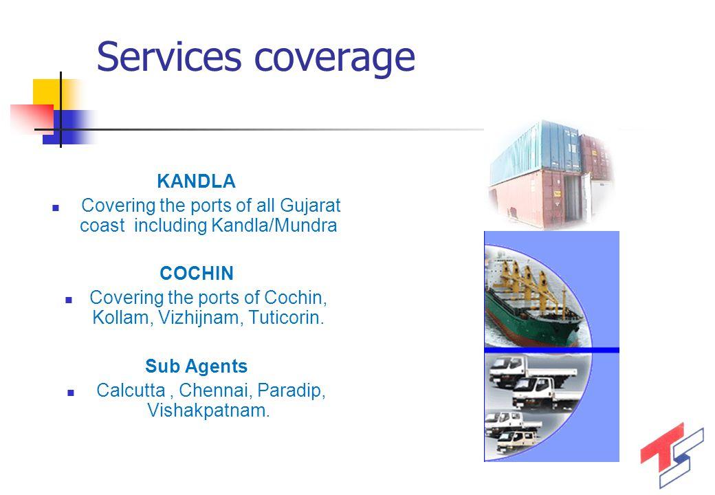 Services coverage KANDLA