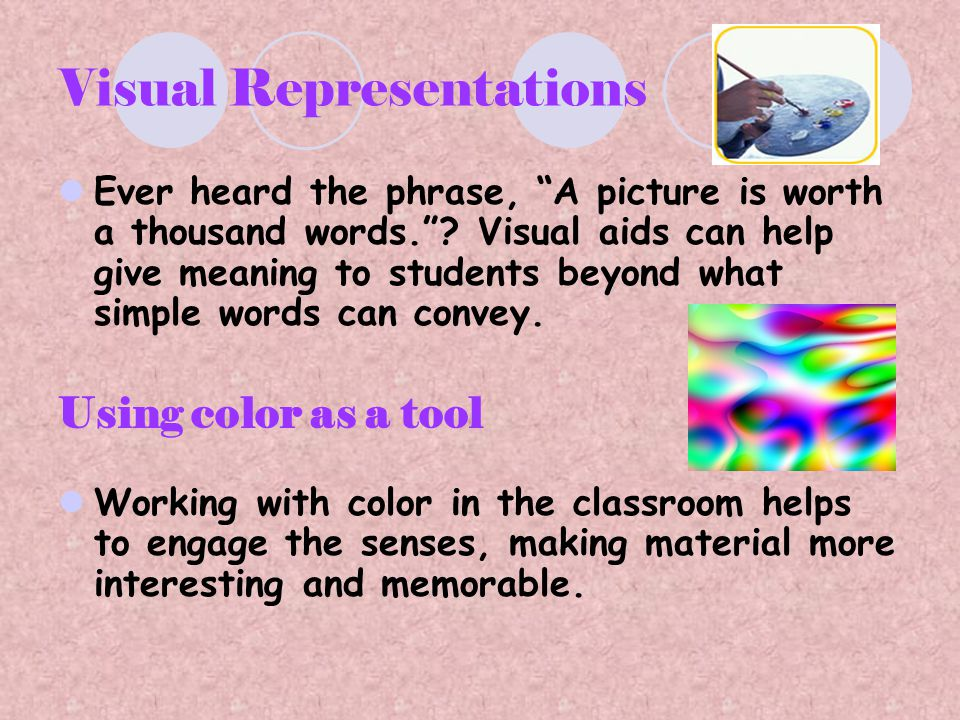 Visual Representations