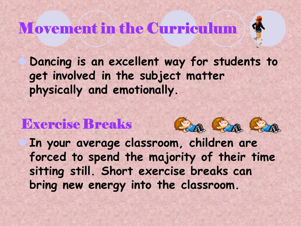 Movement in the Curriculum