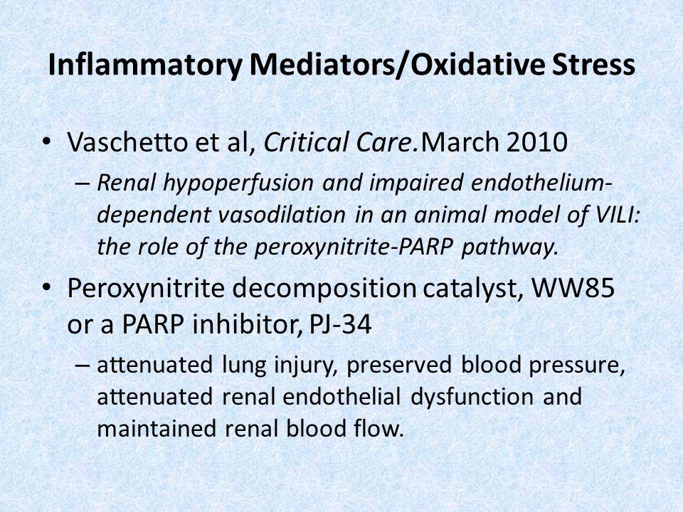 Inflammatory Mediators/Oxidative Stress