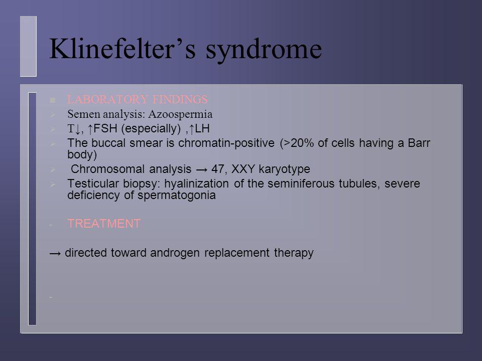 Klinefelter's syndrome