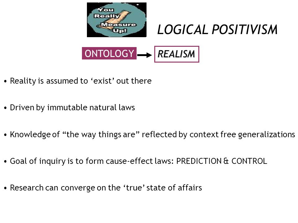 essays on logical positivism The basic concepts of the positivistic paradigm are traced historically in this paper from aristotle through comte, the vienna circle, empiricism, durkheim, sociobehavioral theory, and organizational theory various concepts have been added, deleted, and transformed through positivism's history, but.
