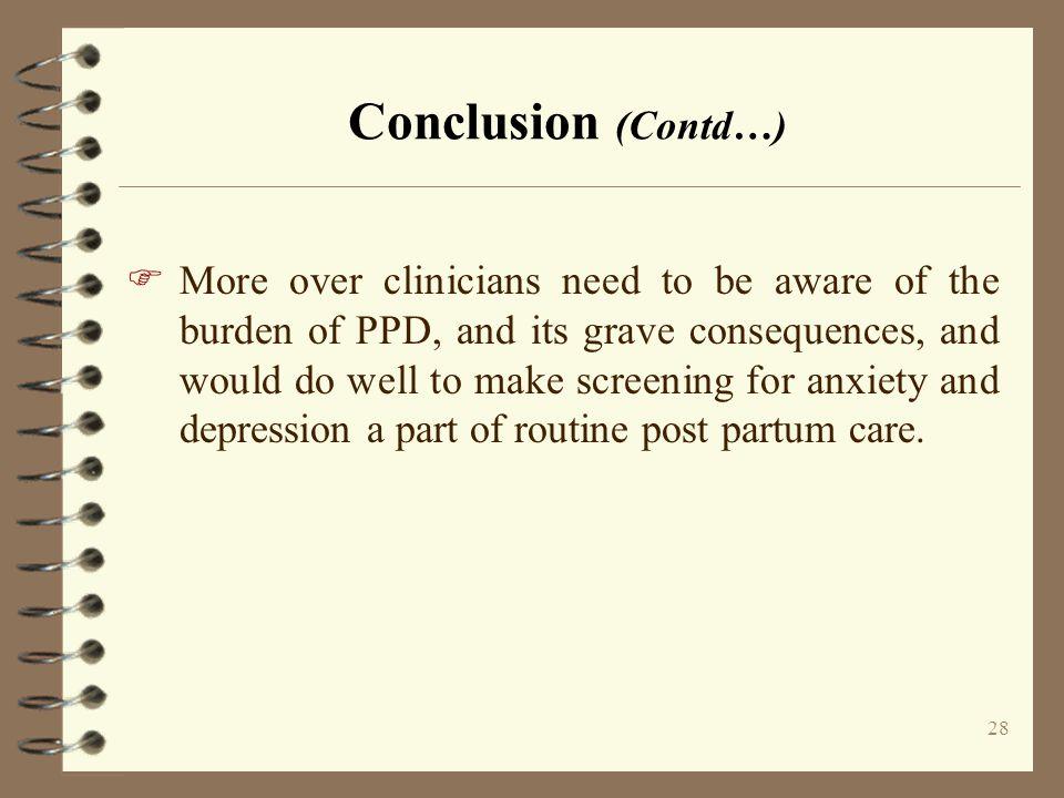 Conclusion (Contd…)