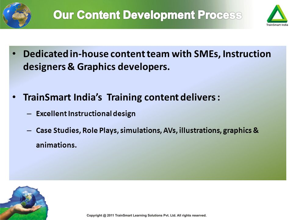 Our Content Development Process