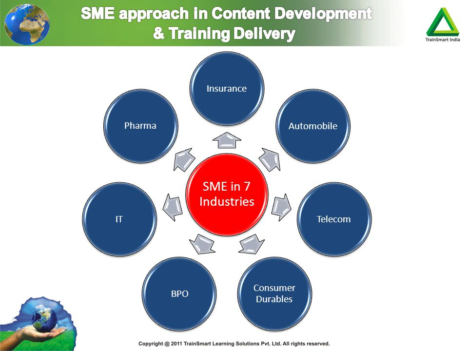SME approach in Content Development