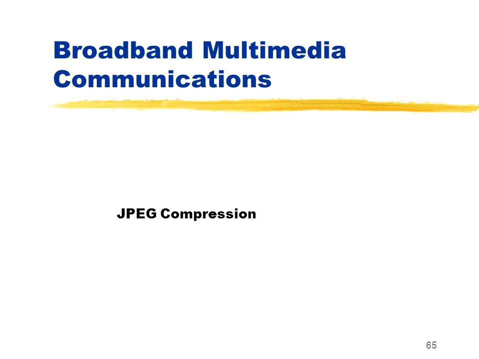Broadband Multimedia Communications
