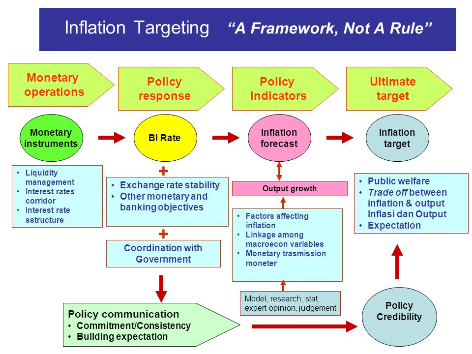 Inflation Targeting A Framework, Not A Rule
