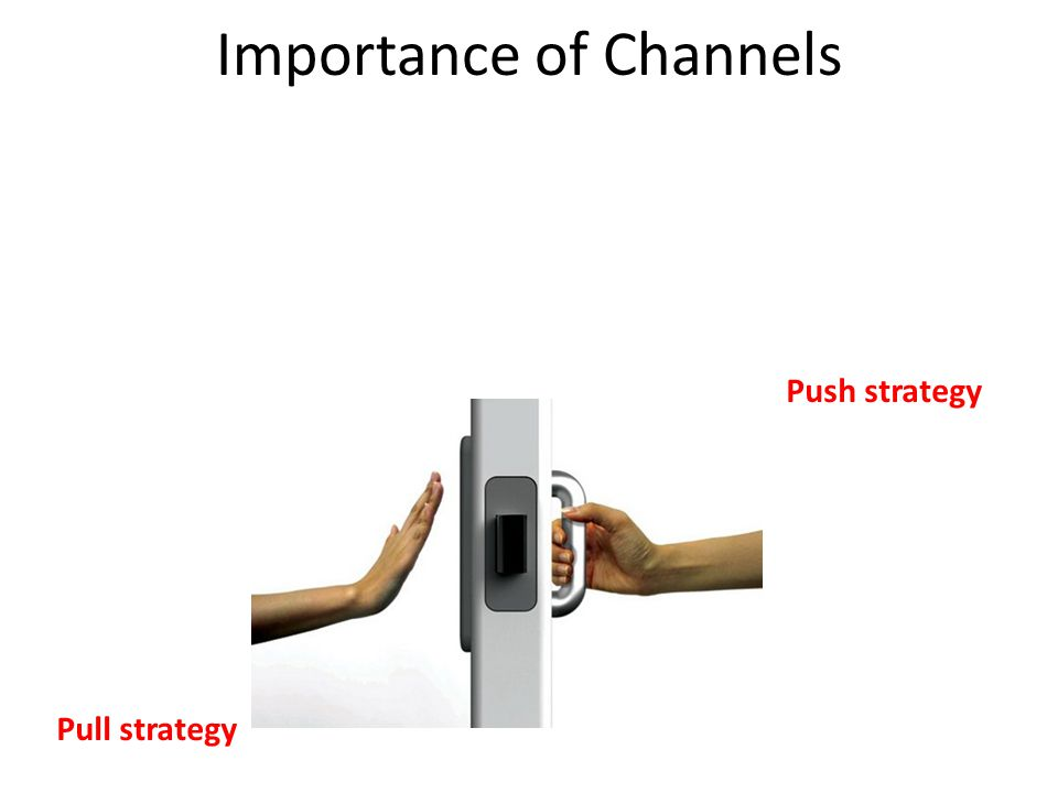 Importance of Channels