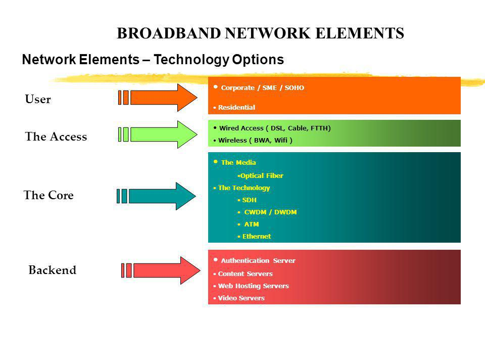 BROADBAND NETWORK ELEMENTS