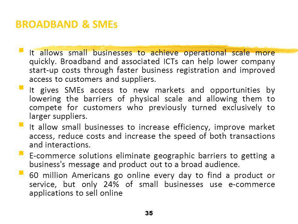 BROADBAND & SMEs