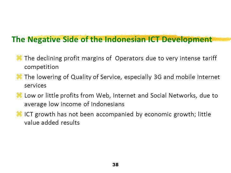 The Negative Side of the Indonesian ICT Development