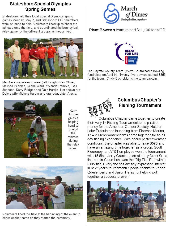 Statesboro Special Olympics