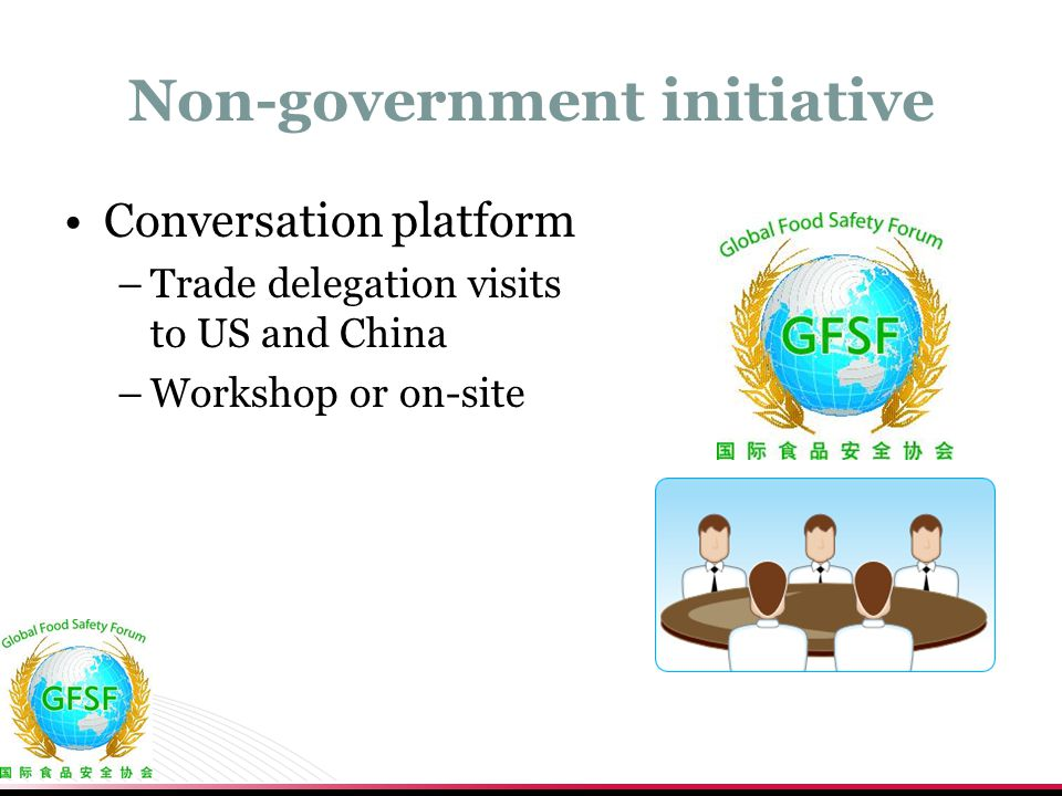 Non-government initiative