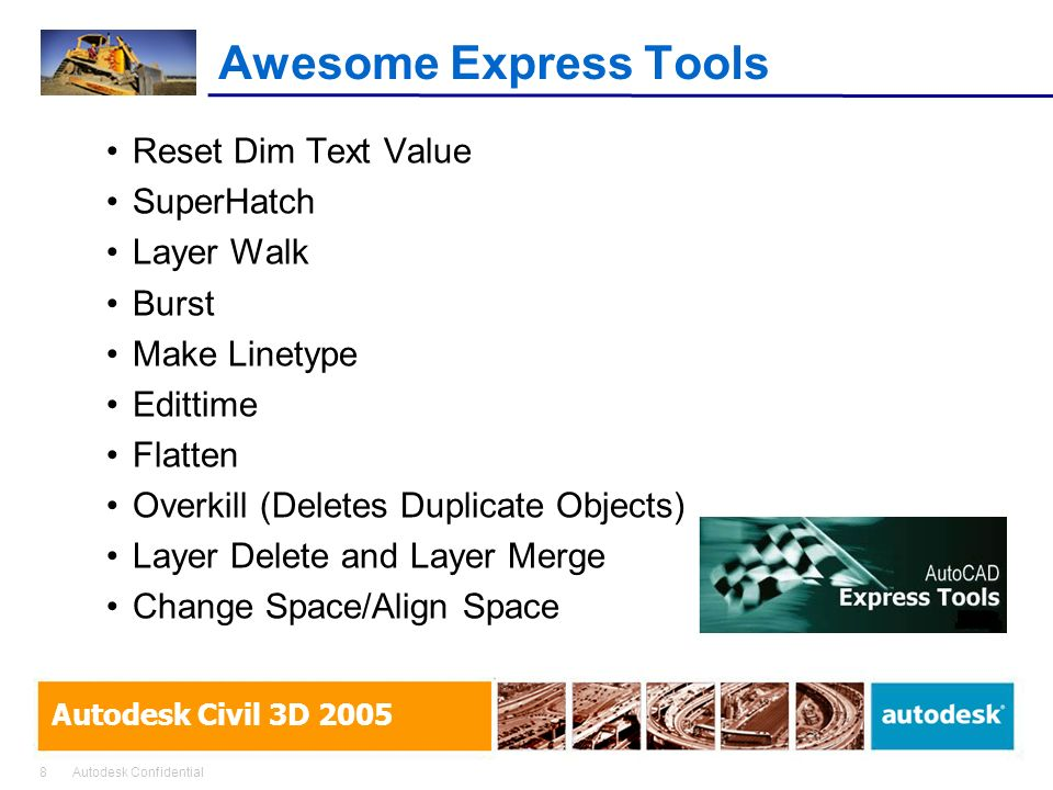 Awesome Express Tools Reset Dim Text Value SuperHatch Layer Walk Burst