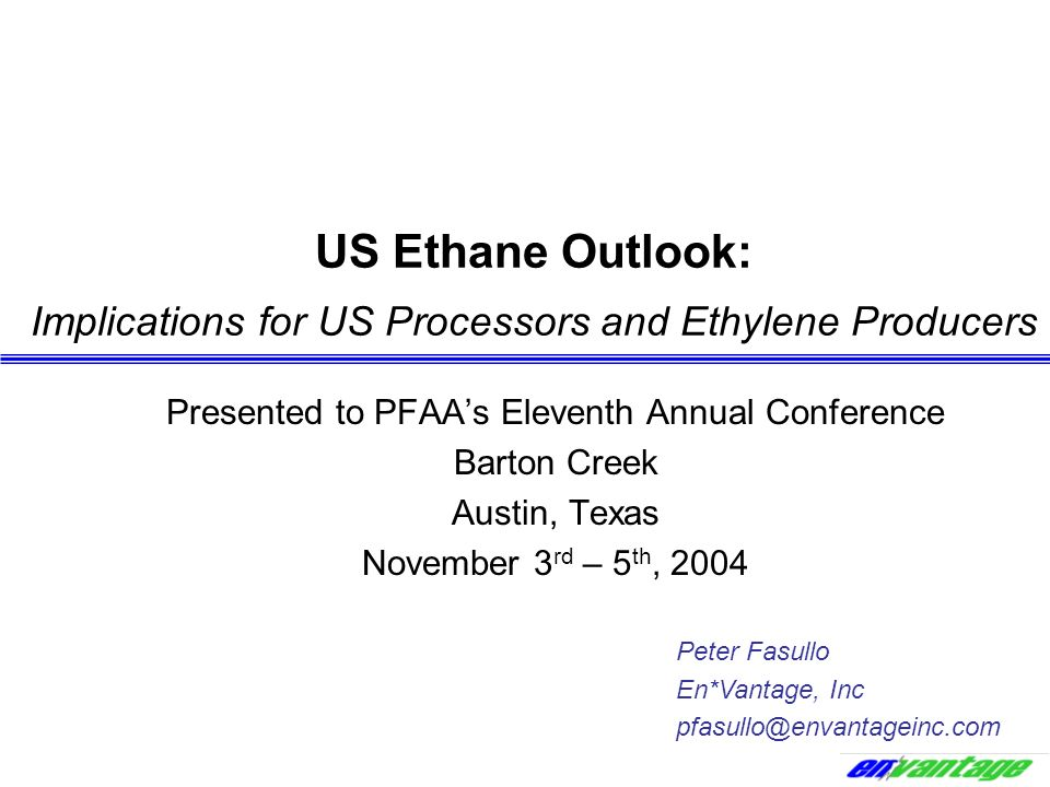 Presented to PFAA's Eleventh Annual Conference