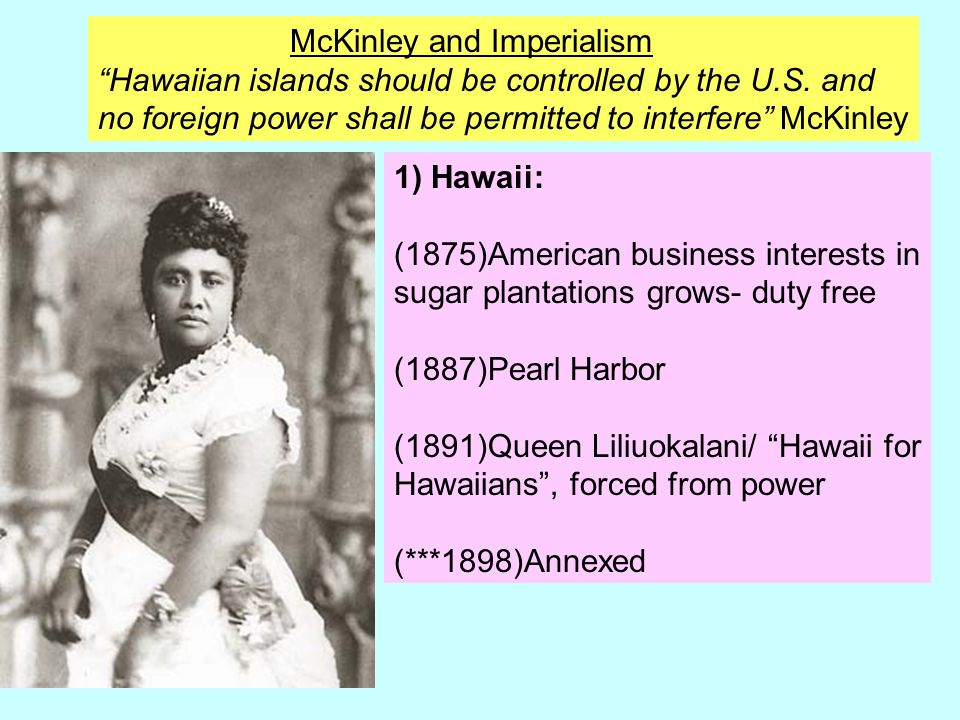 McKinley and Imperialism
