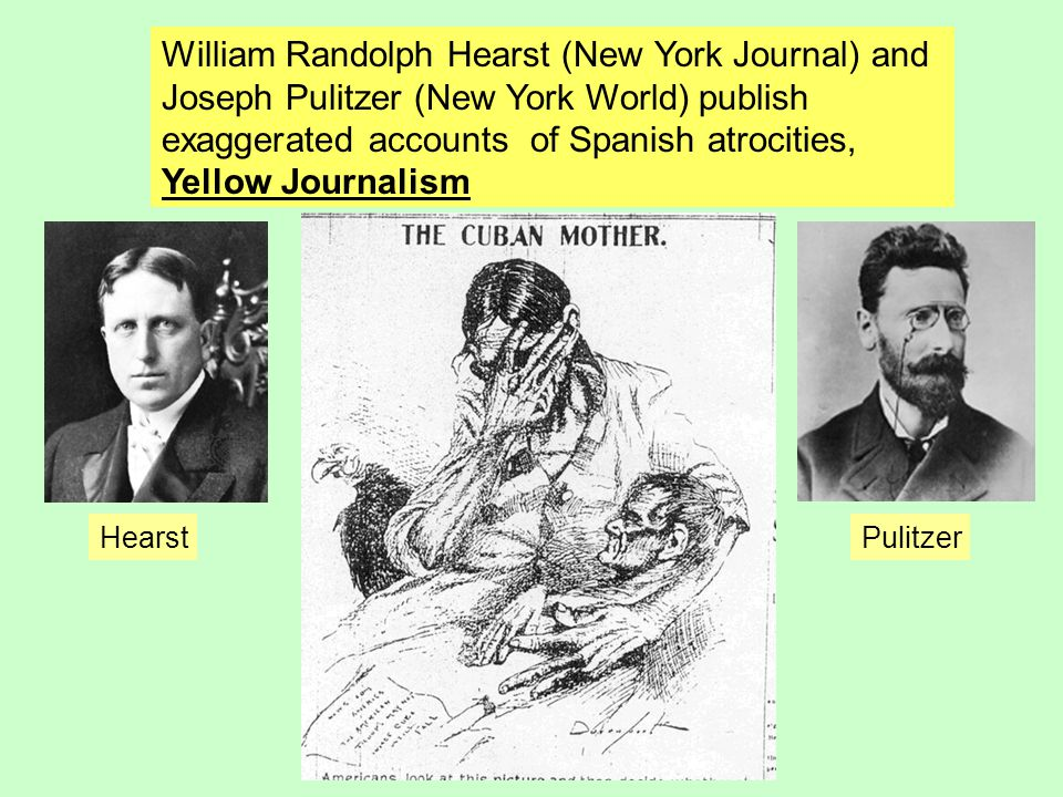 William Randolph Hearst (New York Journal) and
