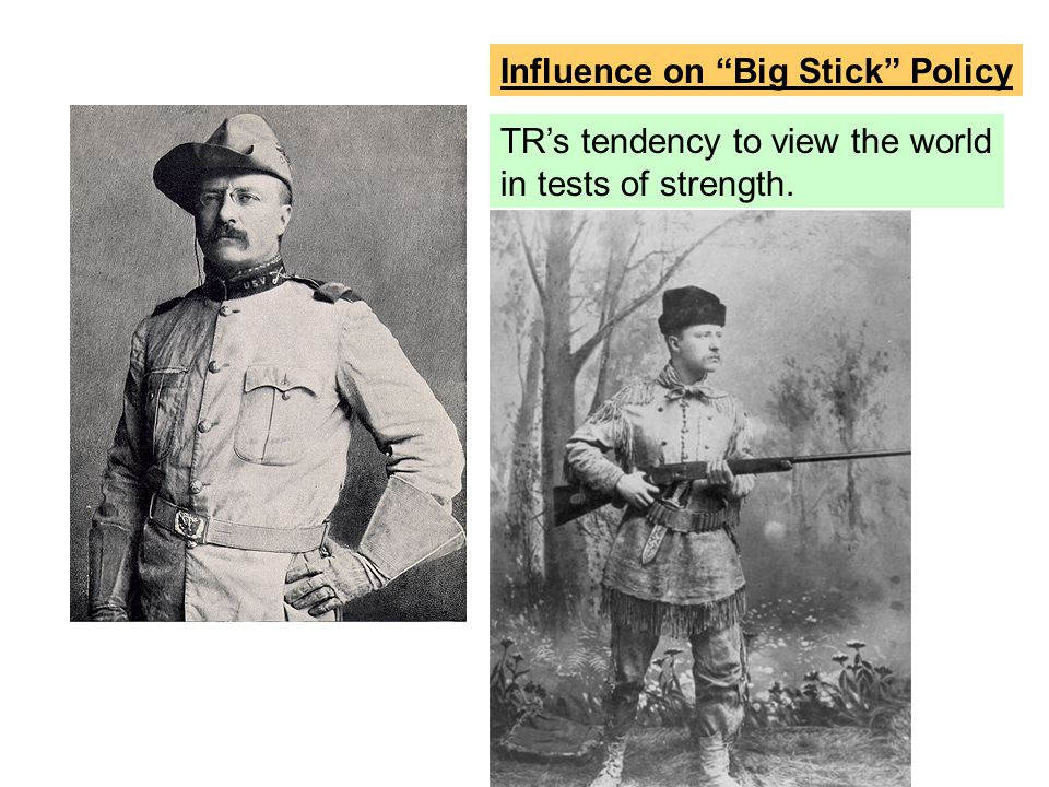 Influence on Big Stick Policy
