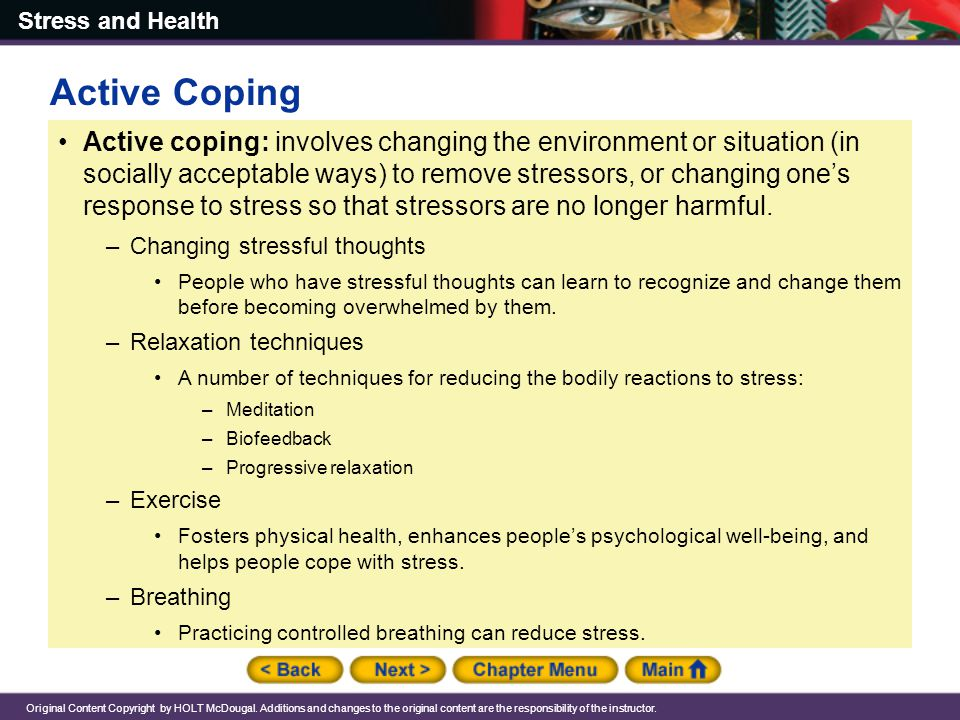 Active Coping