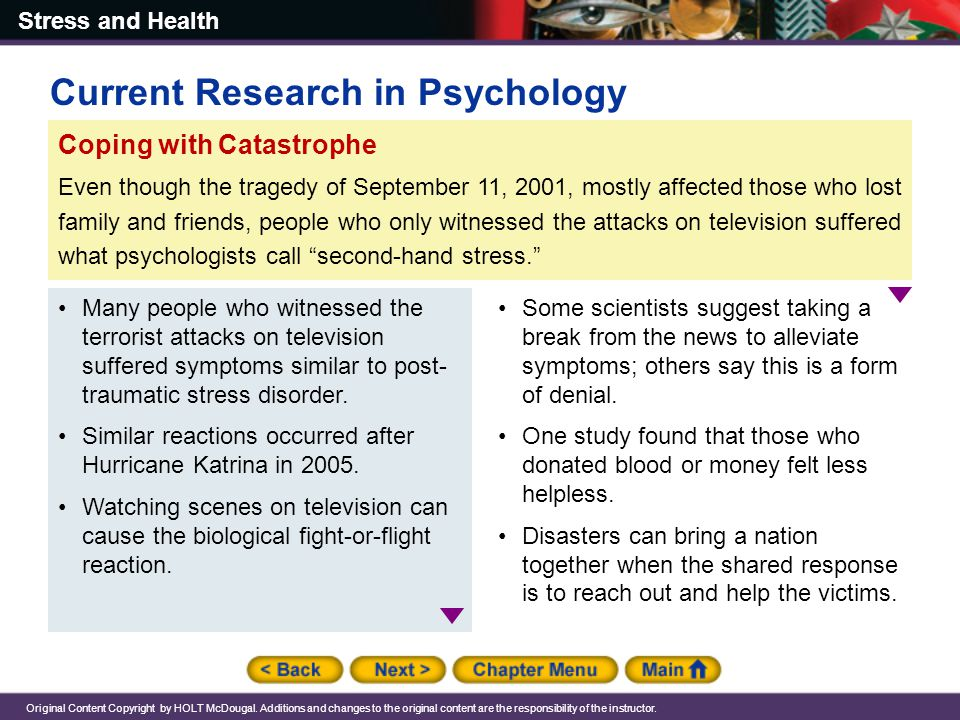 Current Research in Psychology