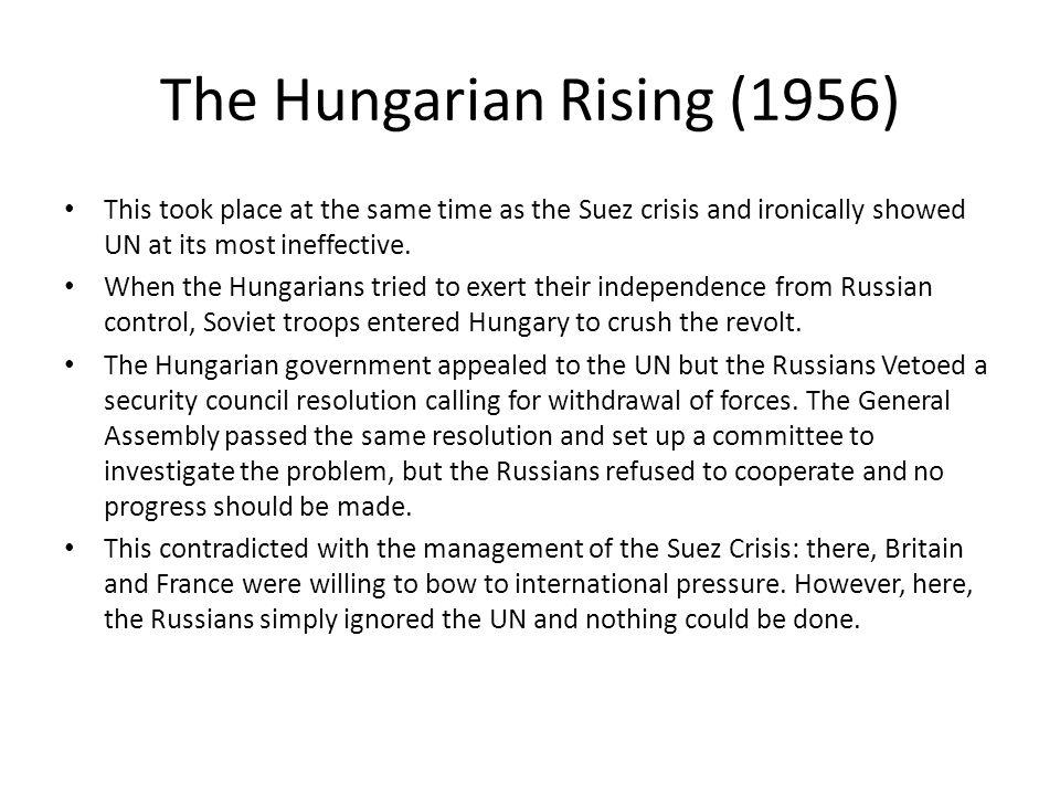 The Hungarian Rising (1956)
