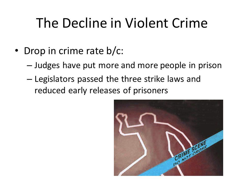 The Decline in Violent Crime