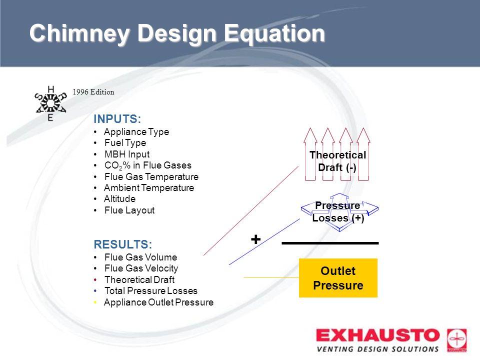 Chimney Design Equation