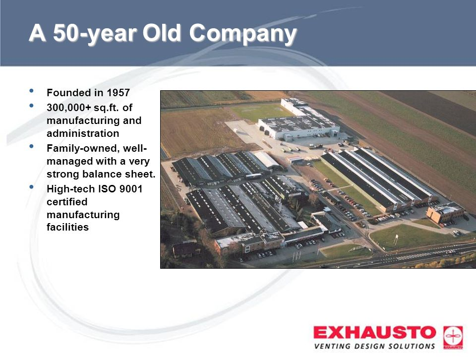 A 50-year Old Company Founded in 1957