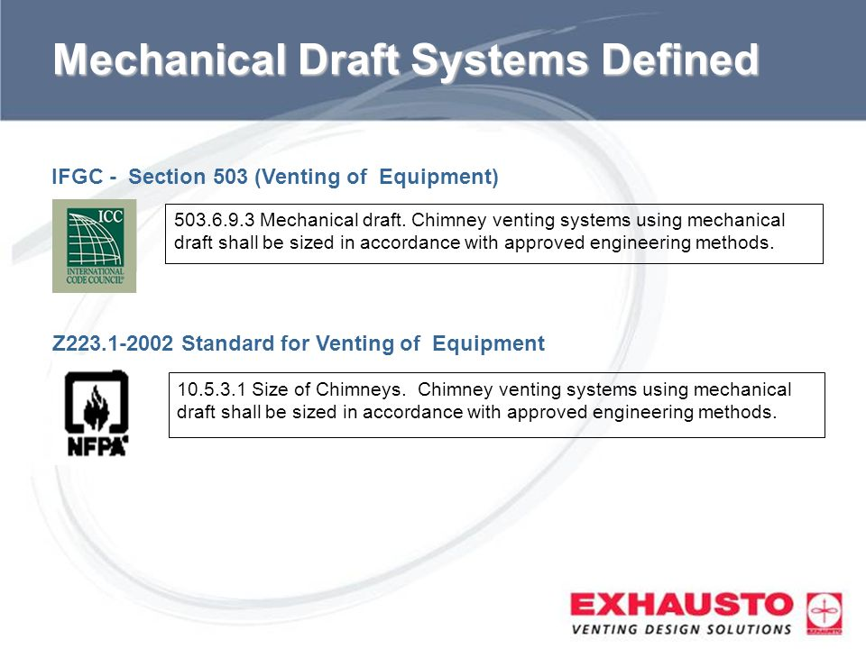 Mechanical Draft Systems Defined