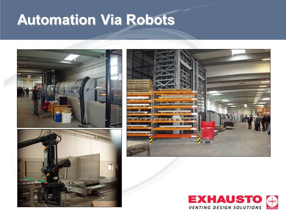 Automation Via Robots