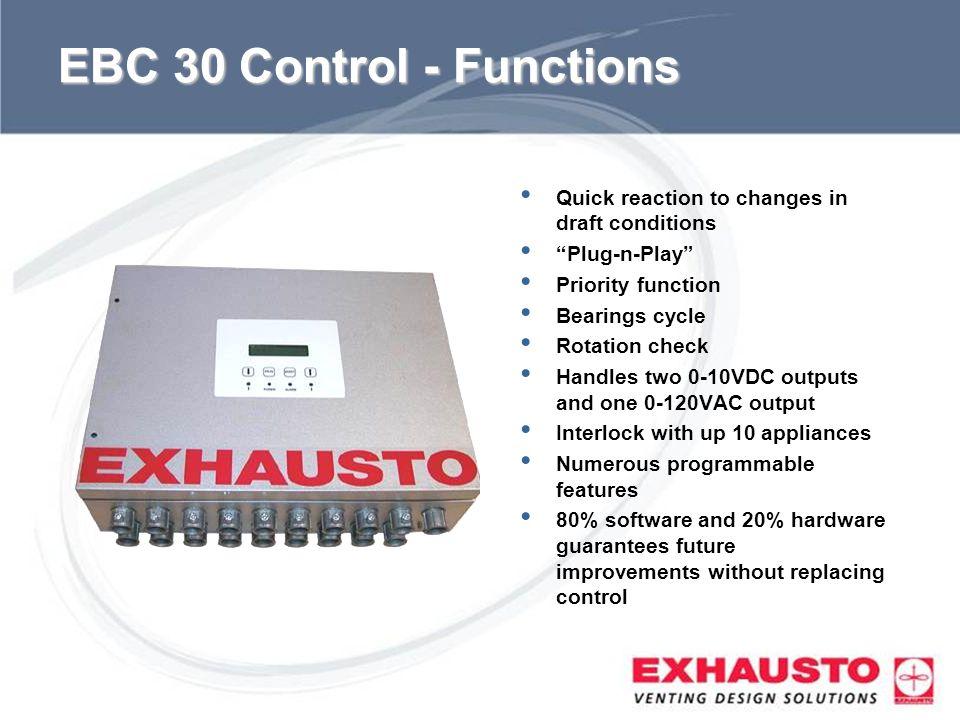EBC 30 Control - Functions