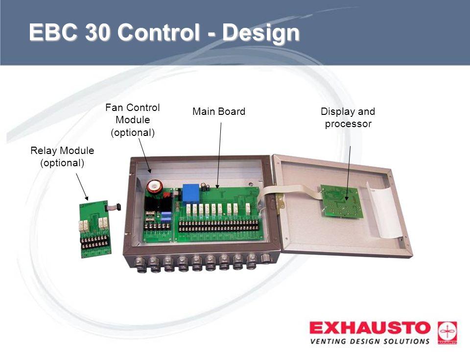 EBC 30 Control - Design Fan Control Module (optional) Main Board