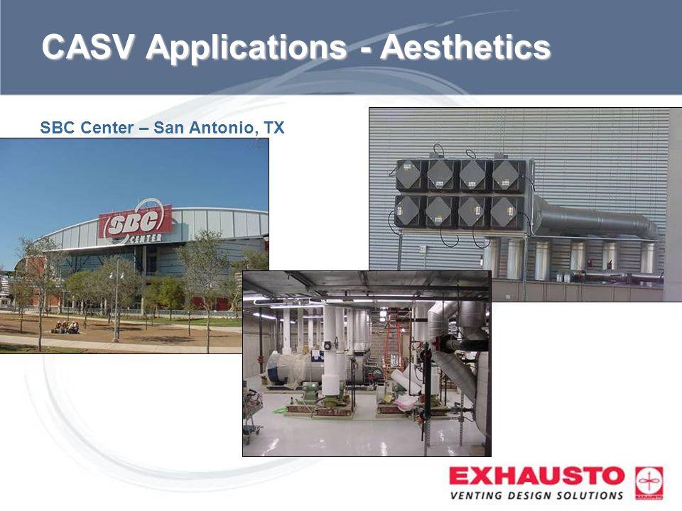 CASV Applications - Aesthetics