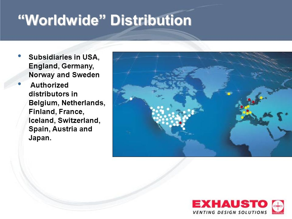 Worldwide Distribution