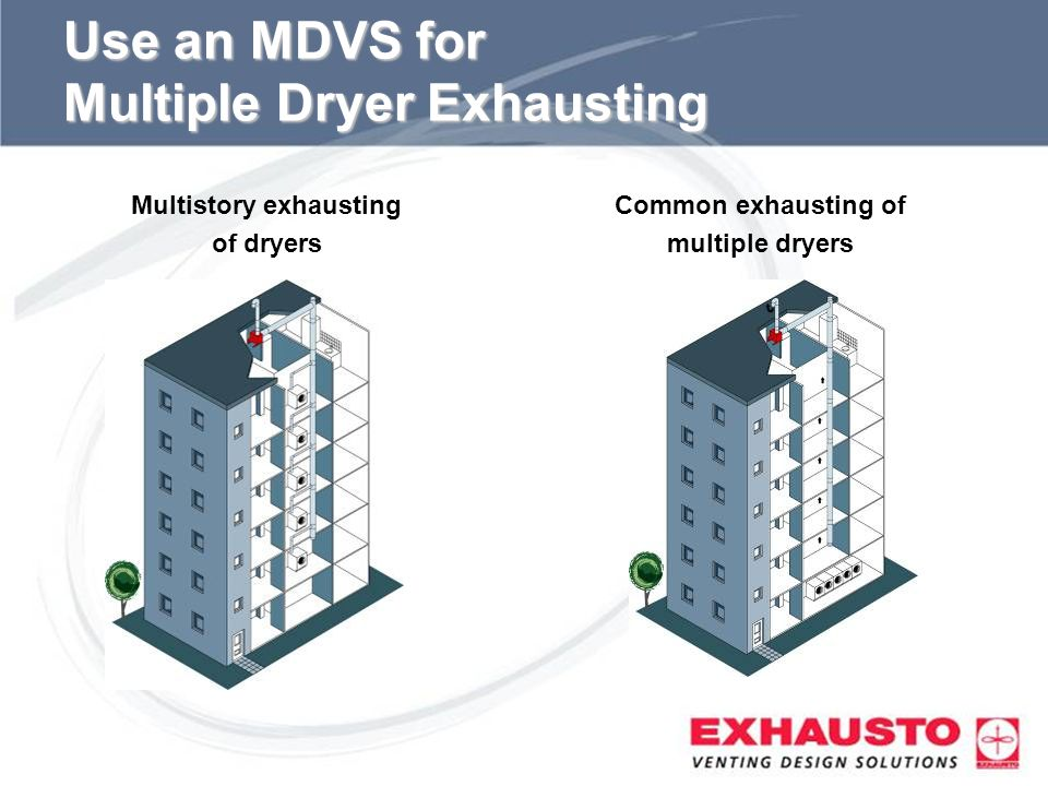 Use an MDVS for Multiple Dryer Exhausting