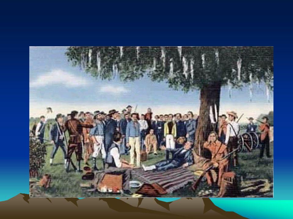 Santa Anna surrenders