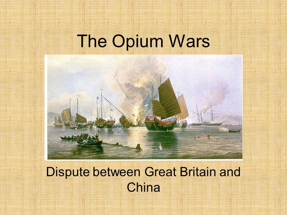 Dispute between Great Britain and China