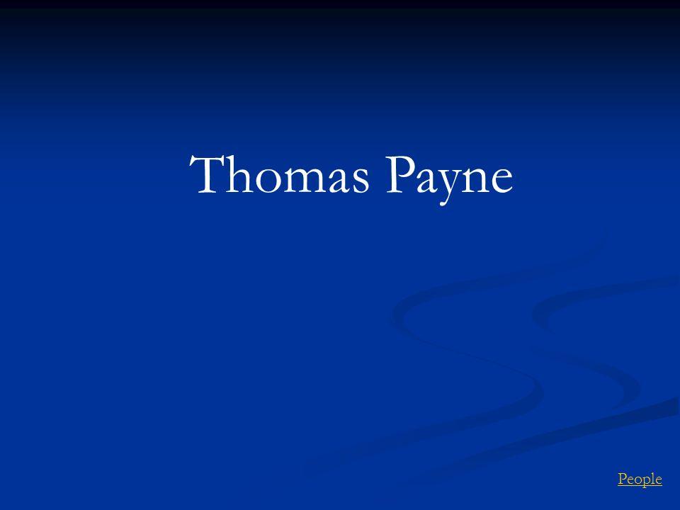 Thomas Payne People