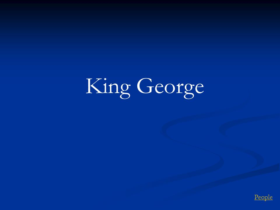 King George People