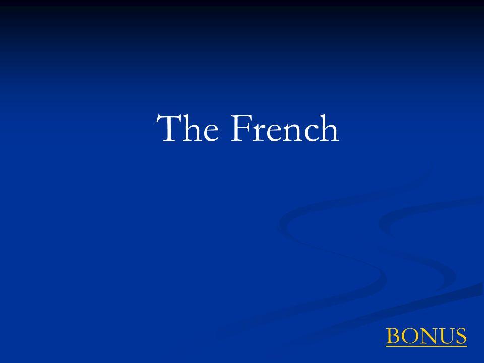 The French BONUS