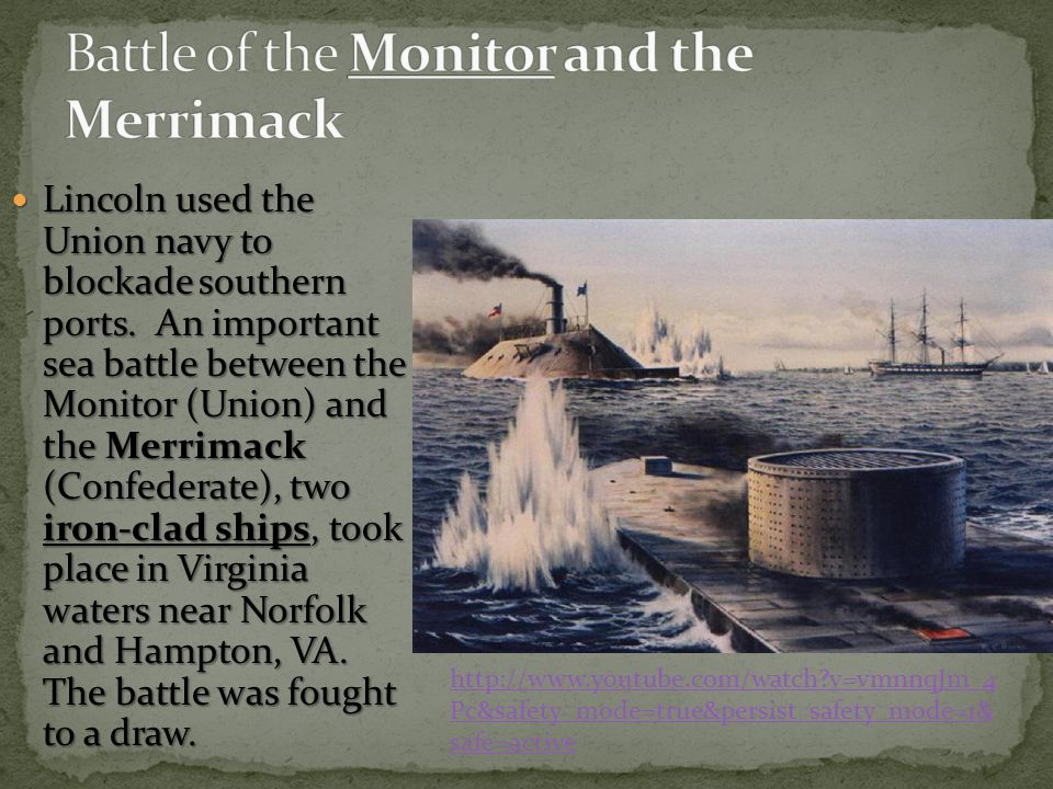 Battle of the Monitor and the Merrimack