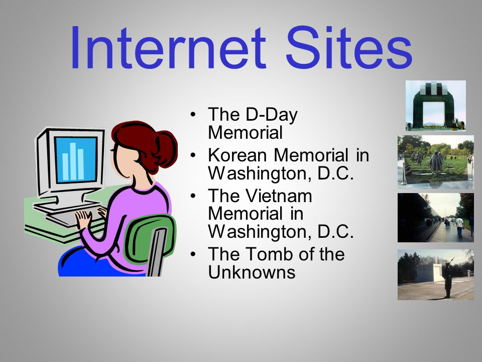 Internet Sites The D-Day Memorial Korean Memorial in Washington, D.C.