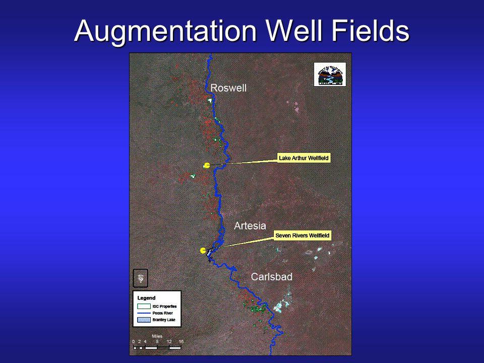 Augmentation Well Fields