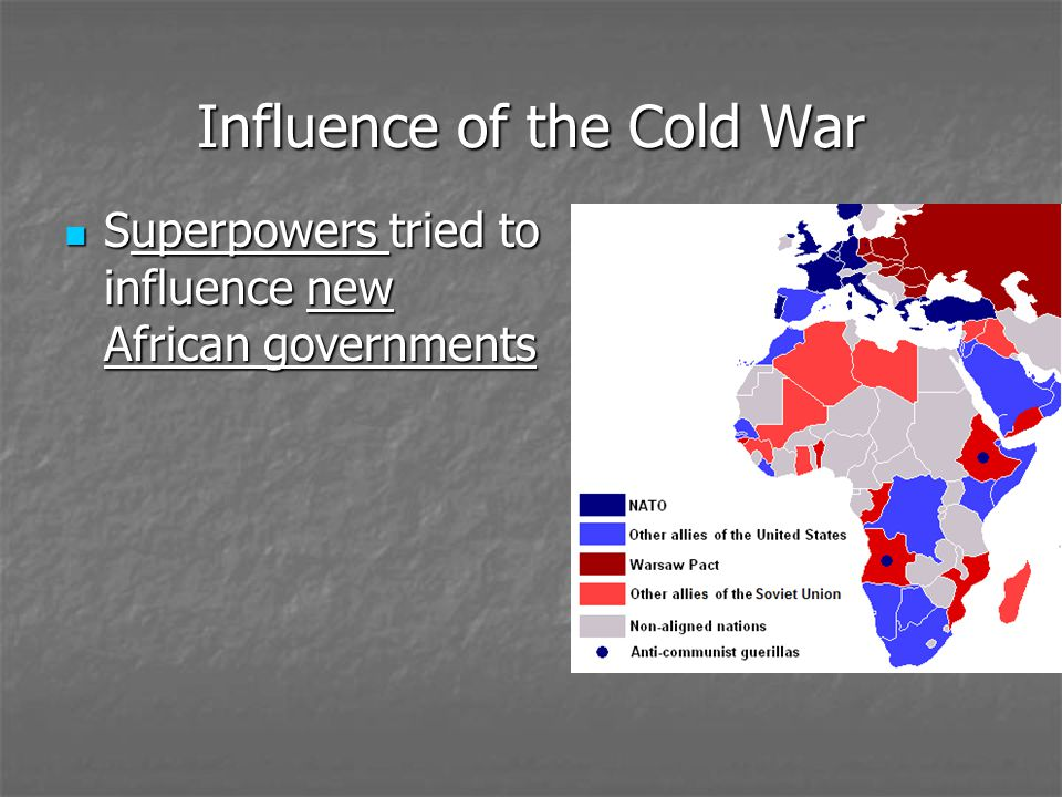 Influence of the Cold War