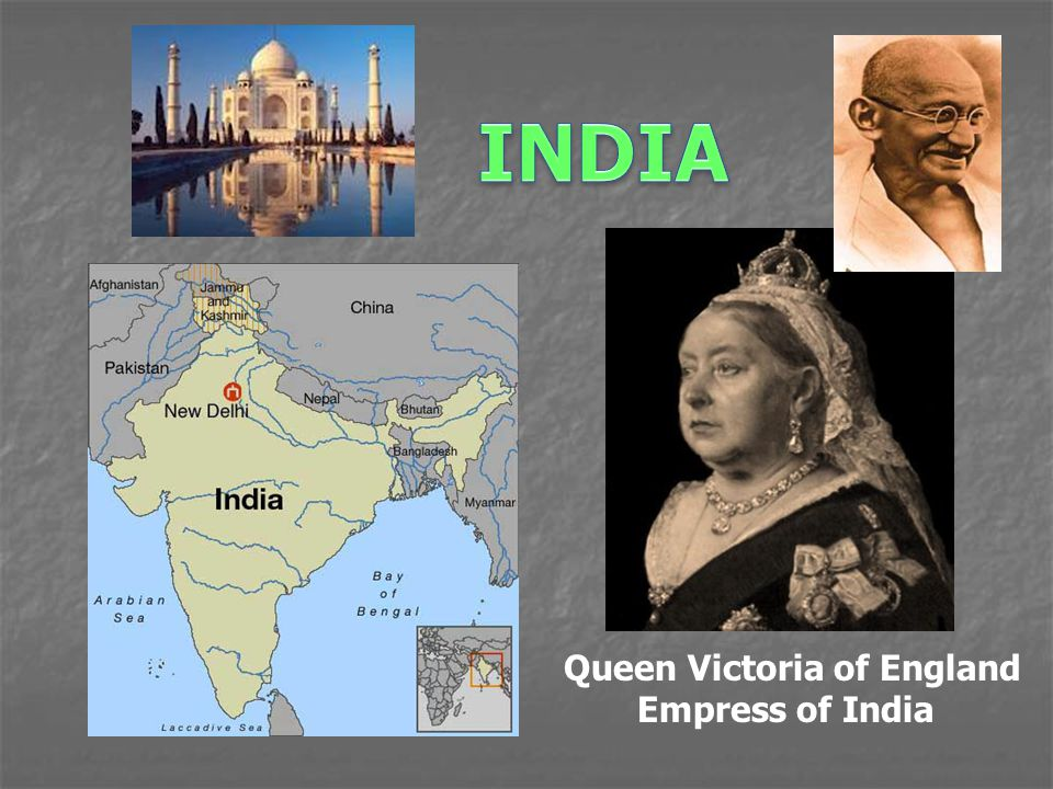 Queen Victoria of England Empress of India